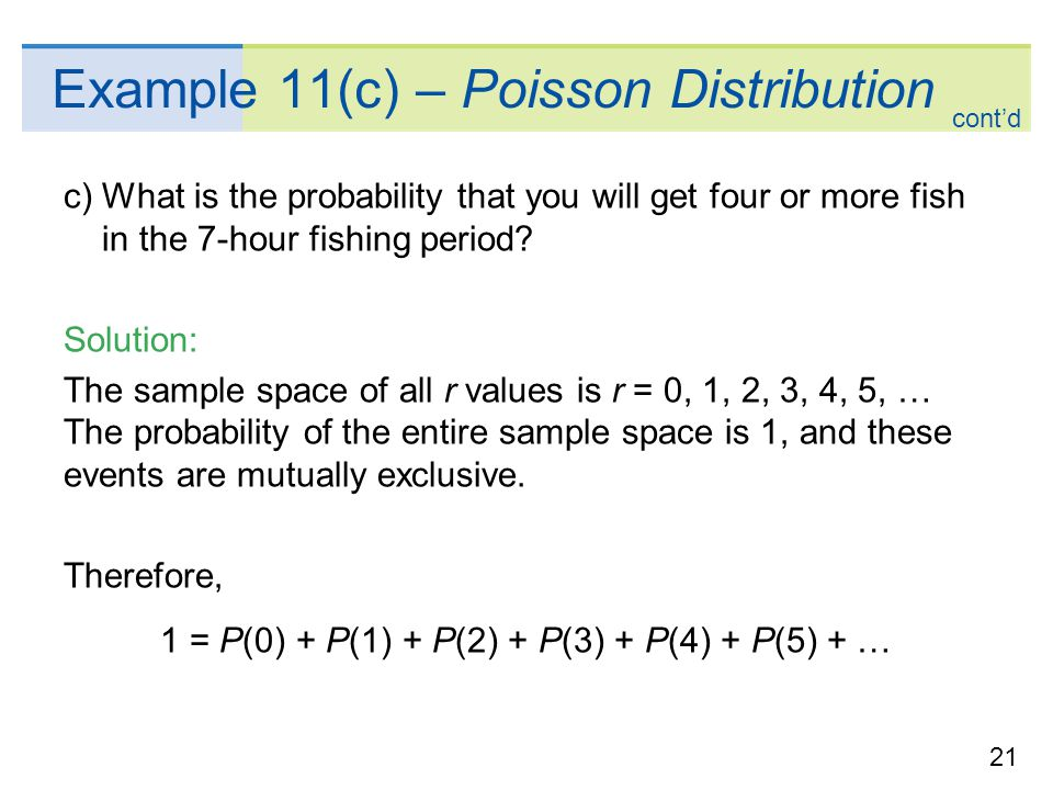The Geometric and Poisson Probability Distributions - ppt video ...