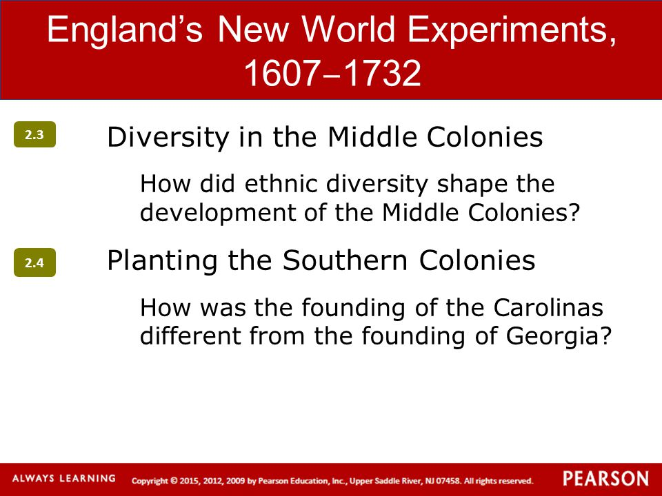 the differences in the development of the new world colonies Political, social & economic differences between the northern & southern colonies during the 1600s political differences charter colonies social differences in the new england colonies.