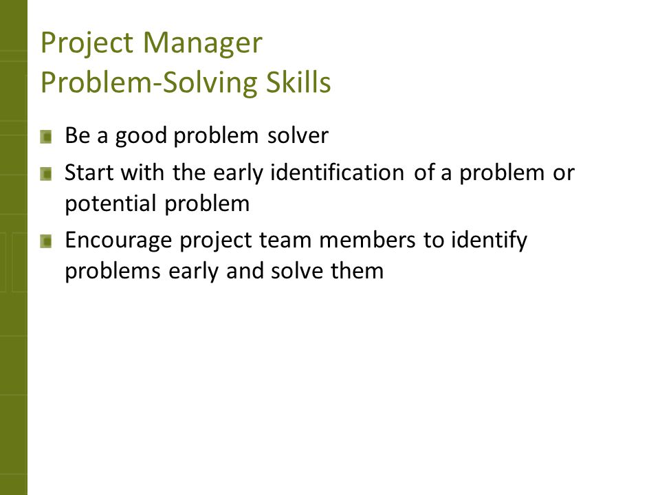 problem solving training for managers
