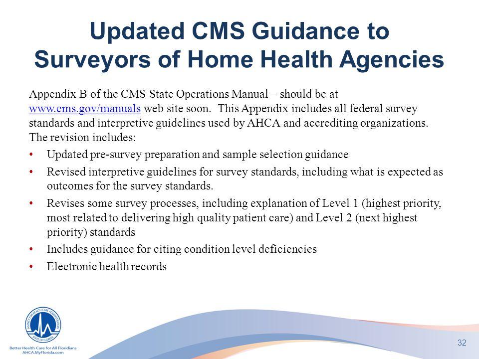 AHCA Home Health Regulatory Update - ppt download