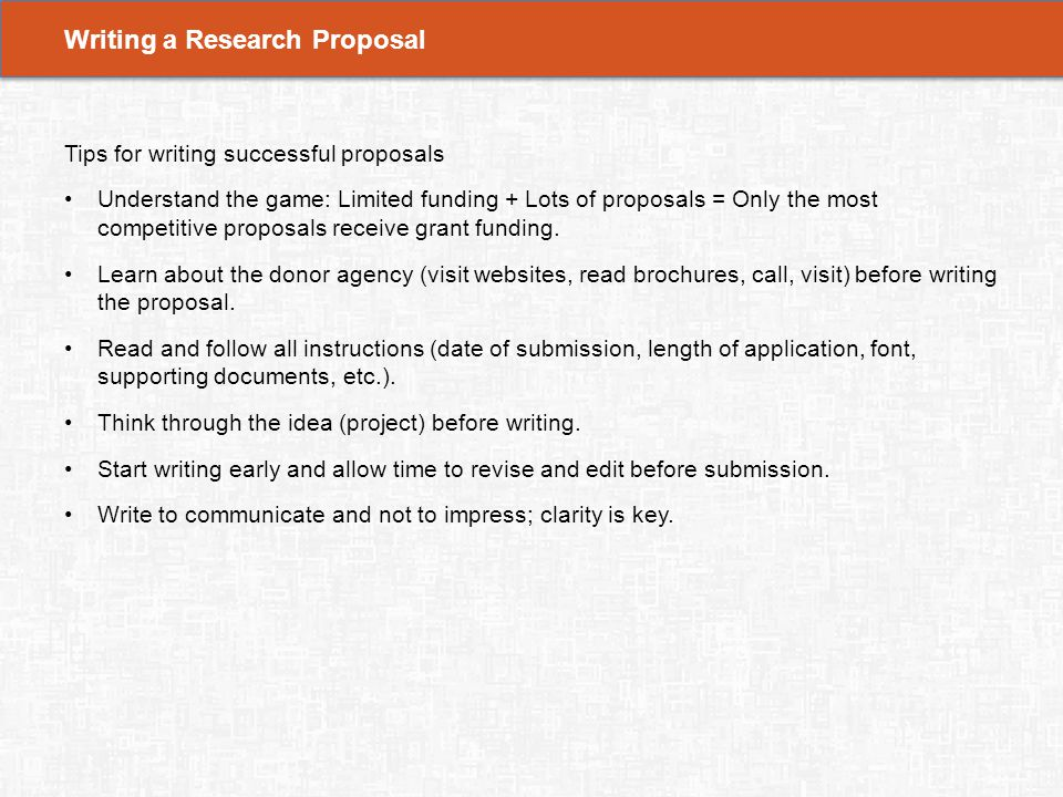 Contents 1 Learning Objectives 5 Grant Proposal Submission Ppt