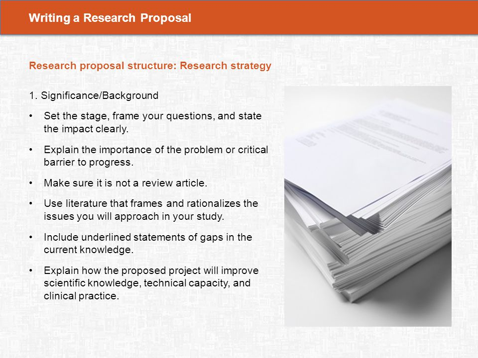 research paper on the importance of Components of a research paper in this segment, the key components of a quality research paper will be identified and discussed learning objectives.