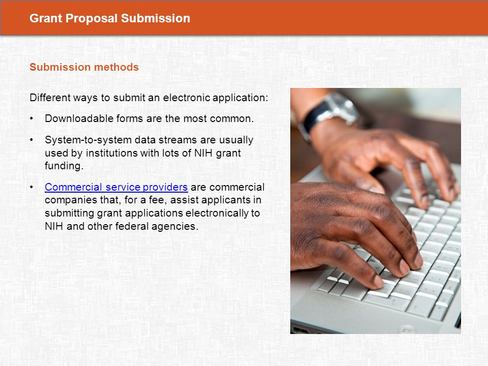 Contents  Learning Objectives  Grant Proposal Submission  Ppt