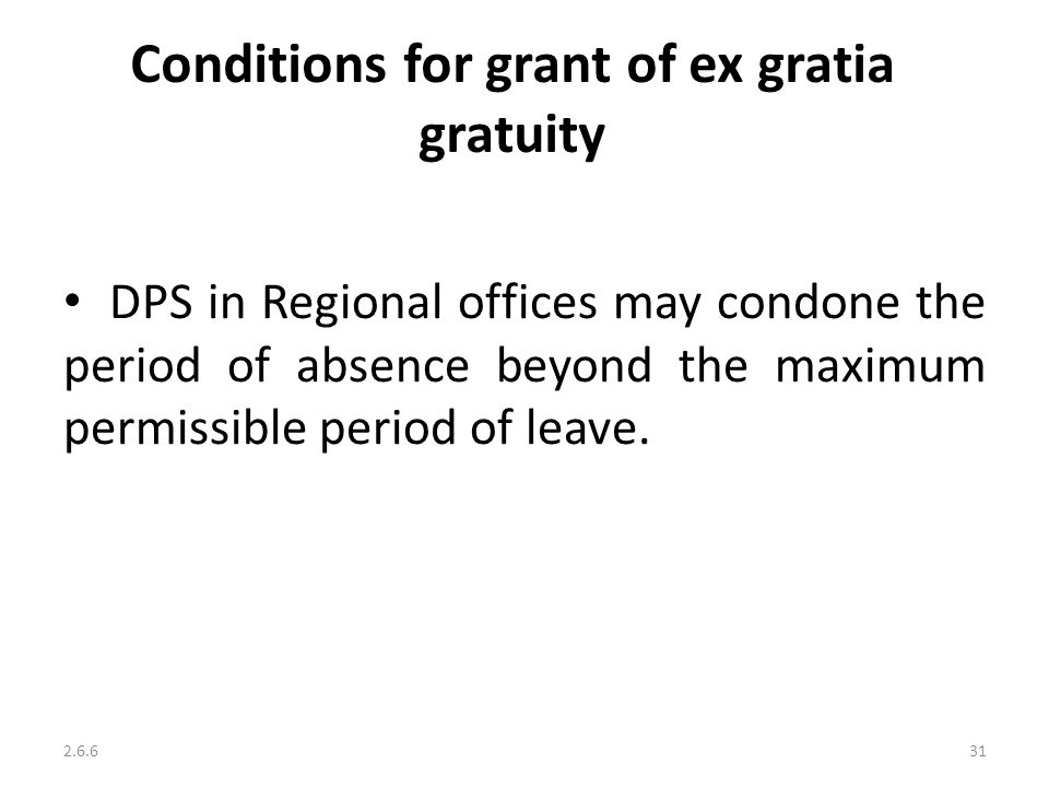 Discharge from service ppt video online download conditions for grant of ex gratia gratuity altavistaventures Gallery
