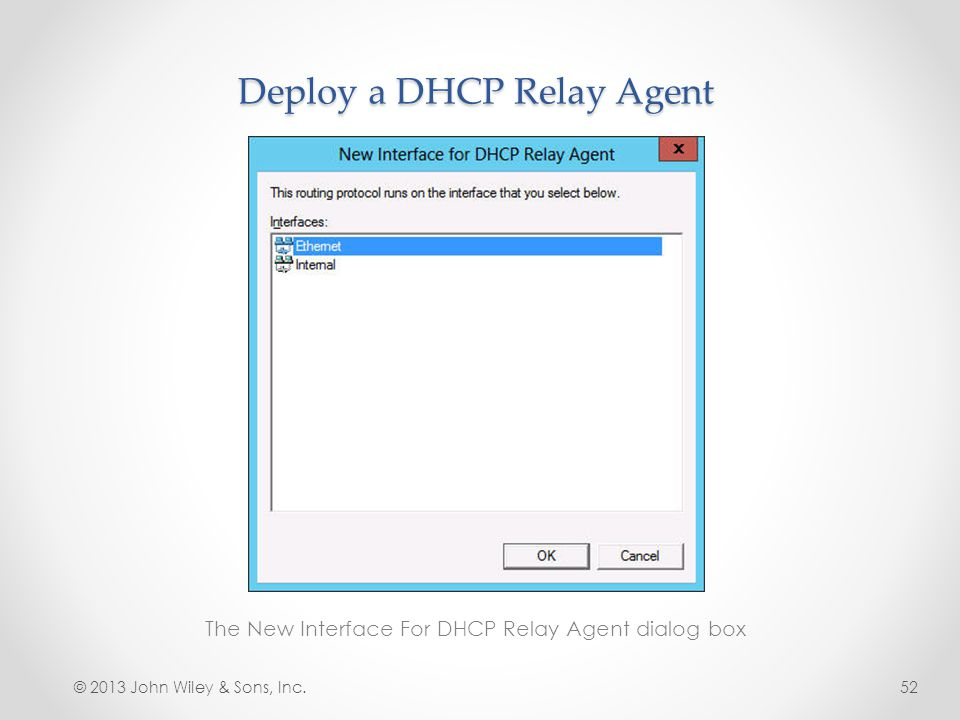 Deploy a DHCP Relay Agent