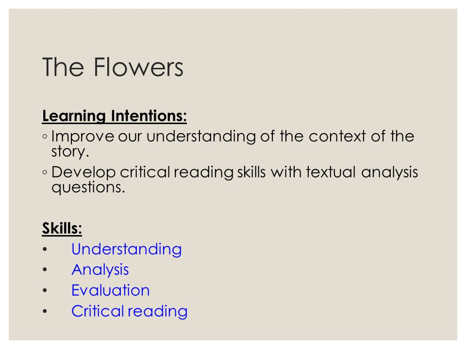 textual analysis of the story of C quote from the text (cited appropriately) d analysis of the quote: how does it prove your thesis e closing sentence (wrap up the paragraph to effectively transition to the next paragraph).