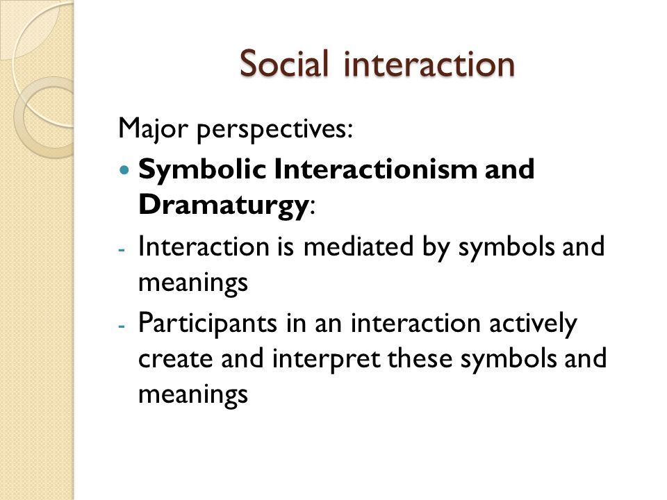 Symbolic Interactionism In Education Images Symbols And Meanings Chart