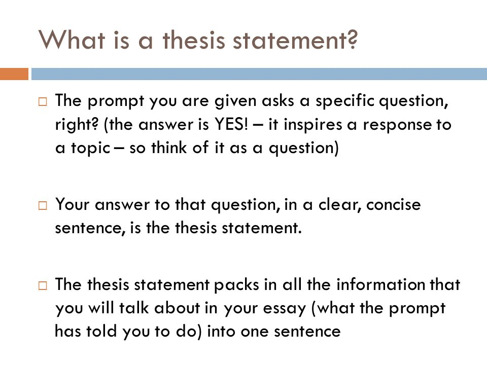 simple thesis statement Definition a thesis statement is a single sentence, preferably a simple declarative sentence, that expresses the basic idea around which the paper will develop.