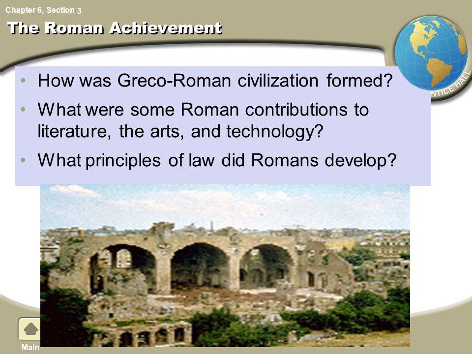 Were the romans civilized essay