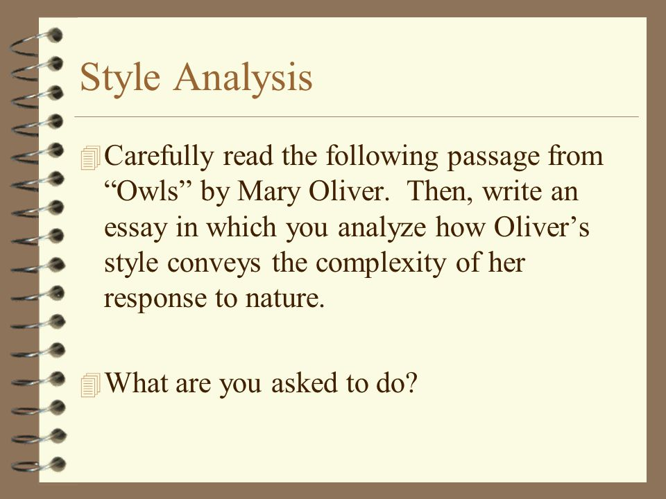 writing an in class essay ap language ppt video online  style analysis