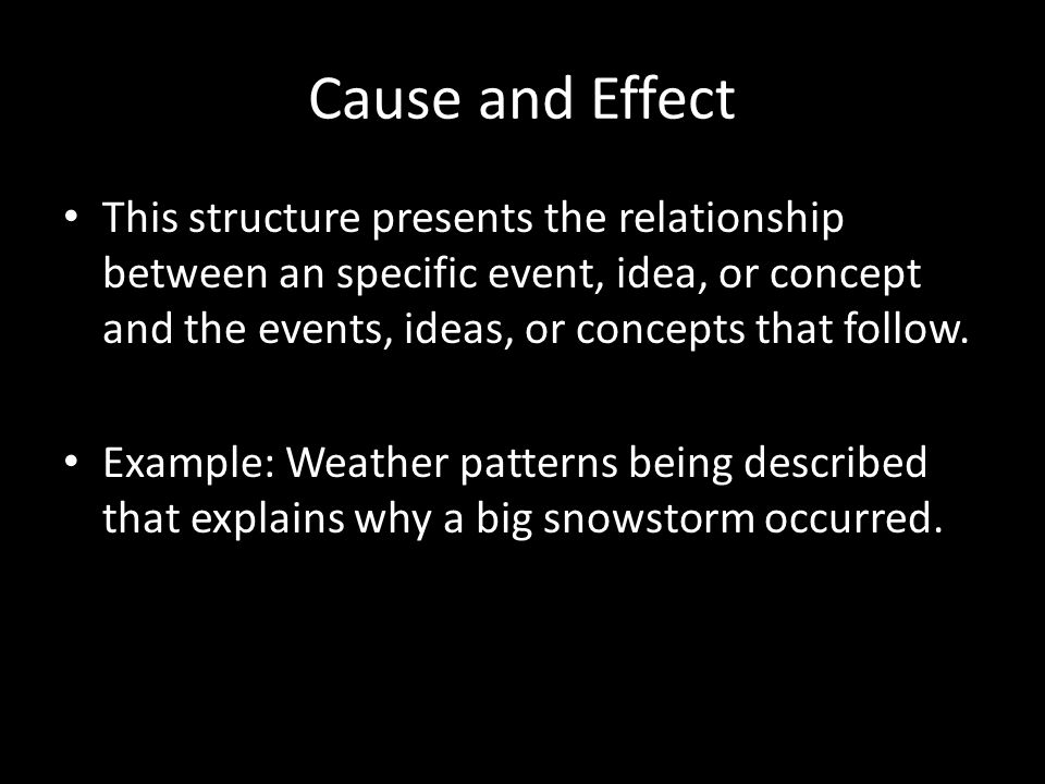 what is the relationship between events and patterns