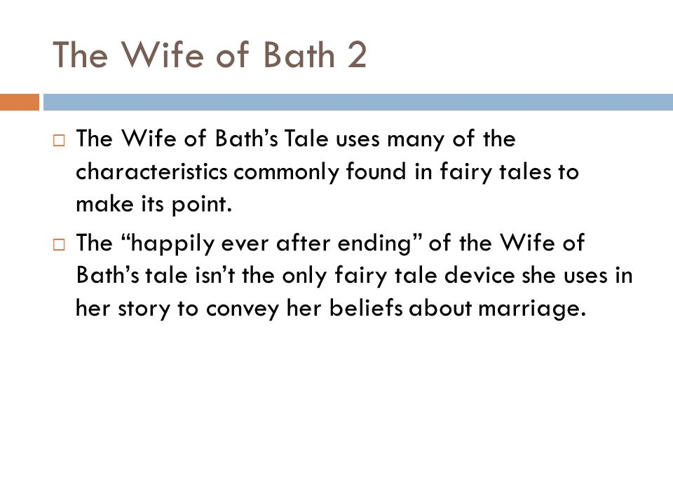 """a view on marriage by the wife of bath Character analysis  in both """"the wife of bath's prologue"""" and """"tale,"""" the wife of bath discusses marriage, virginity, and most importantly the question ."""