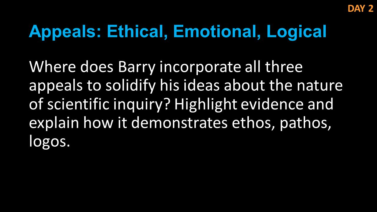 logical ethical emotional appeals This will assist in a better understanding of how emotional appeal is used to persuade people don't buy for logical reasons they buy for emotional reasons.