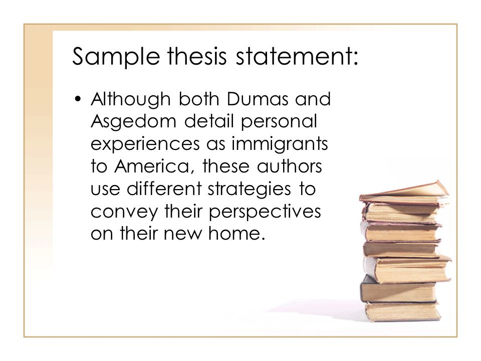 build a thesis statment Сreating your own strong thesis statements has never been so fast and simple try our thesis statement generator for free without registration.