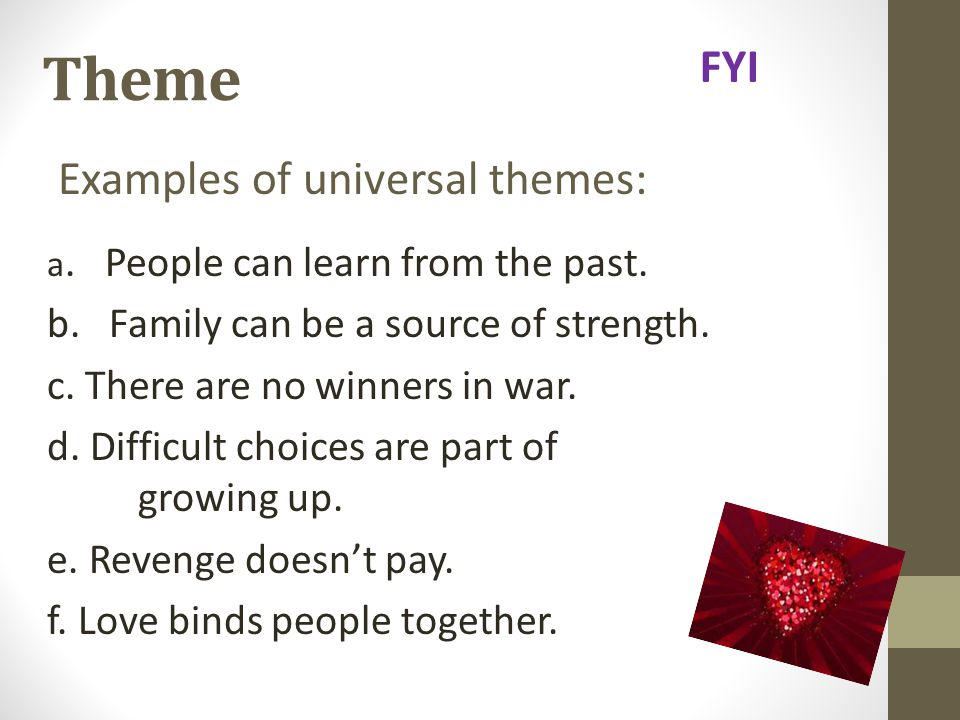 Universal themes   Coursework Sample - bluemoonadv com