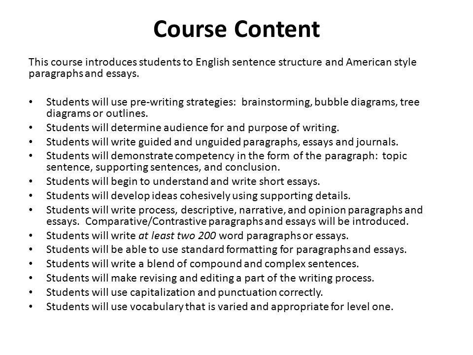 high standard english essay These comments are offered in the spirit of fostering discussion rather than resolving all the many complex issues that surround the term standard english.