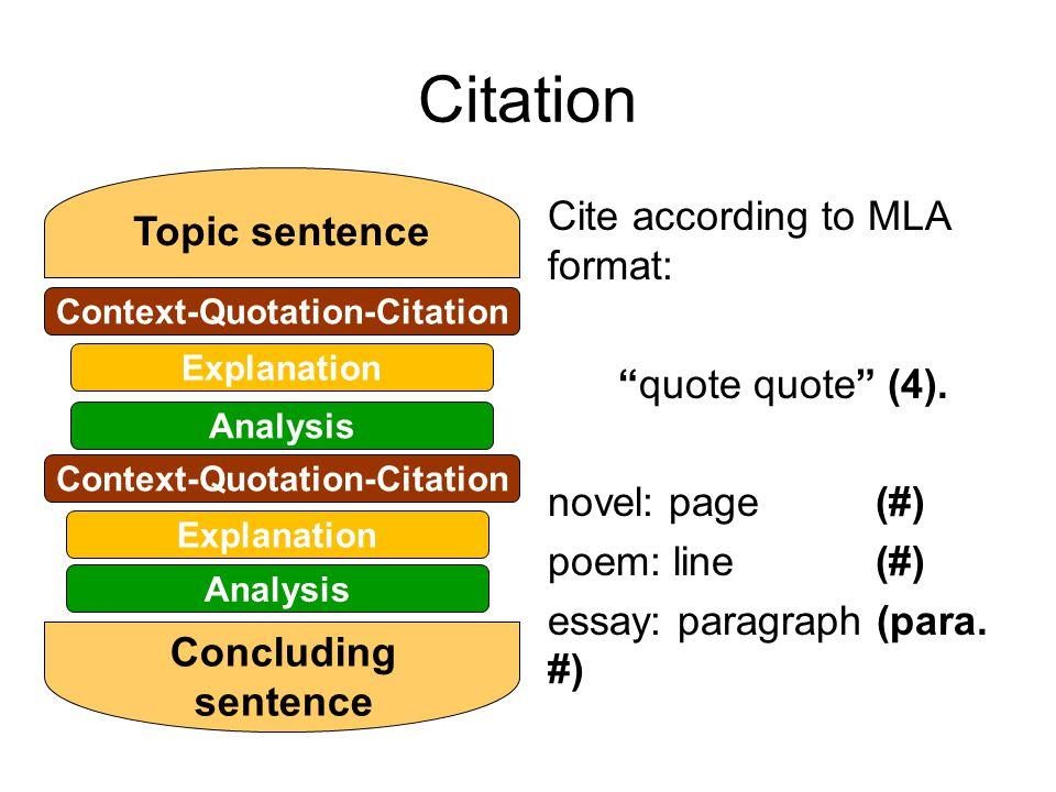 literary analysis essay structure