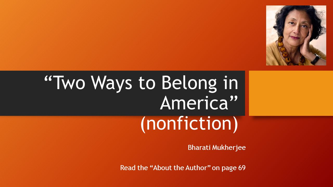 belonging to america The feeling of belonging is an essential part of experiencing a full life, yet many people walk around with the painful feeling of not belonging in this article.