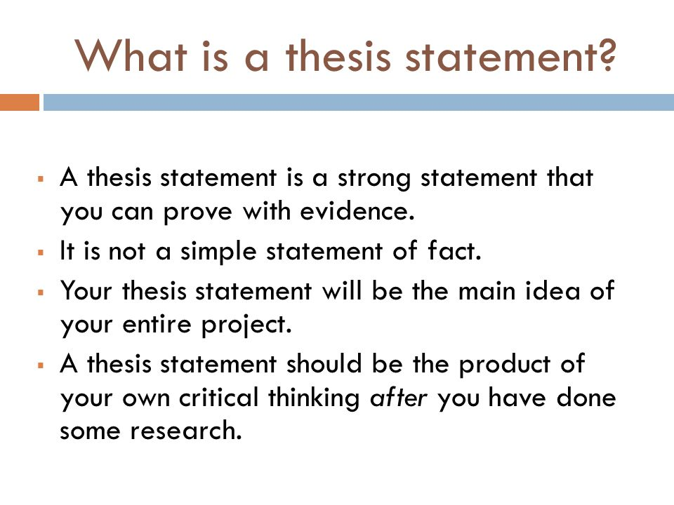 argumentative essay ppt video online  what is a thesis statement