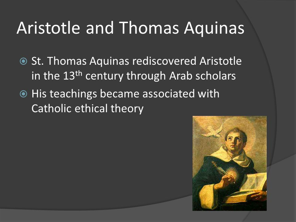 Ethical theories: Aristotle, Aquinas, Kant, and Mill