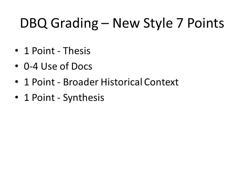 dbq frq Dbq leq succeed extra credit strayer contact & continuity and change over time are each separate essay types for the leq the frq in history is a.