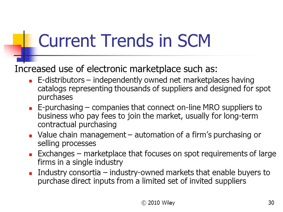 trends in procurement scm The e-procurement market is set to undergo substantial technology and solution transformation between 2016 and 2018 in the first installment of this research brief, we covered the first.