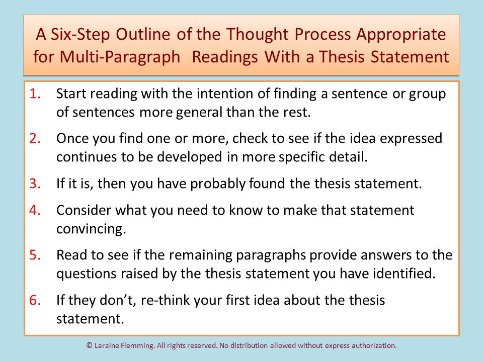is thesis statement always in first paragraph A thesis statement is one of the most a thesis statement for an argument essay does not always address a specific audience since it is written first-year.