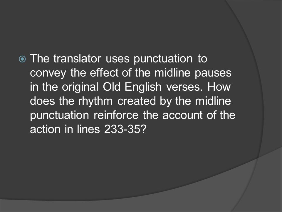 how does the rhythm created by the midline punctuation reinforce the account of the action here For those who already have a number of logic of english supplements, we have created a and punctuation midline facilitates better rhythm to.