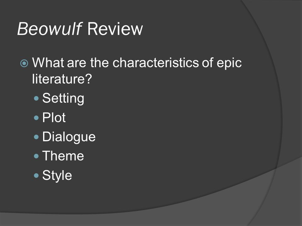 epic of beowulf essay alliteration in beowulf Category: epic of beowulf essay title: use of metaphors, exaggeration, and alliteration in beowulf.