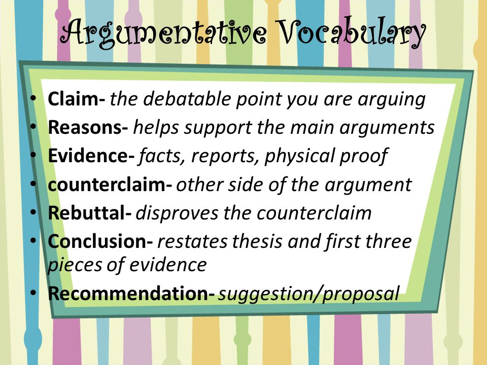 Buy argumentative essay with counterclaim and rebuttal