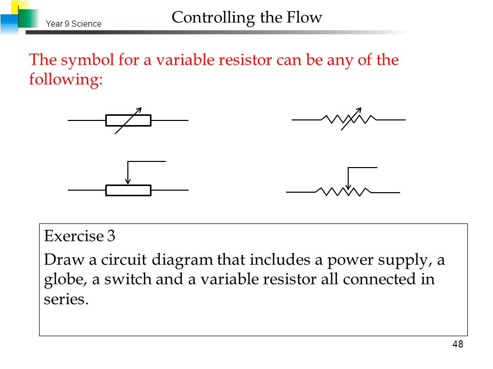 Awesome Symbol For A Resistor Model - Schematic Diagram Series ...