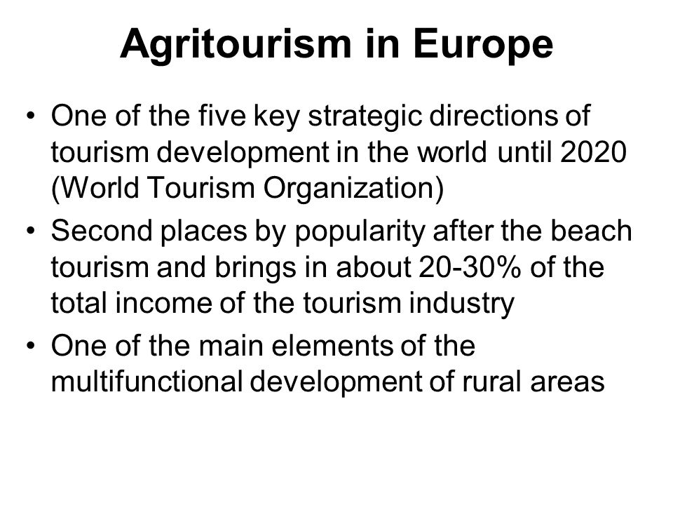 the agritourism potential for rural development tourism essay Key words: rural tourism, entrepreneurship, development, human resources  ( light, 2006) romanian rural areas have a tourism potential insufficiently   essay and annotated bibliography,   16.