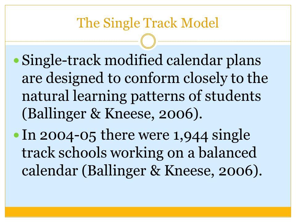 The Single Track Model
