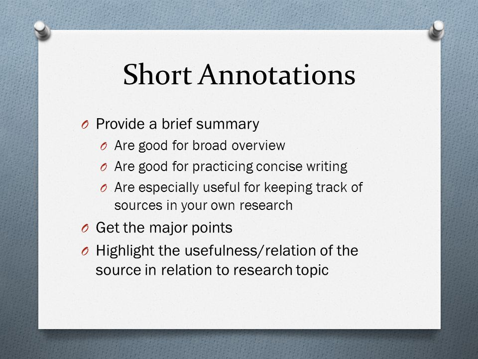 Annotated Bibliography And PowerPoint Presentations - ppt video ...