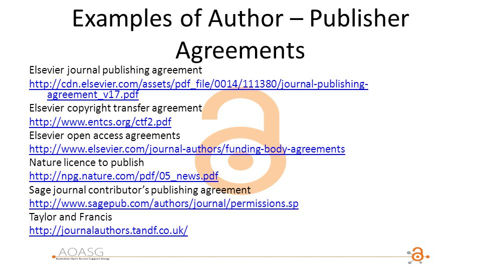 Aoasg member institutions ppt download examples of author publisher agreements platinumwayz
