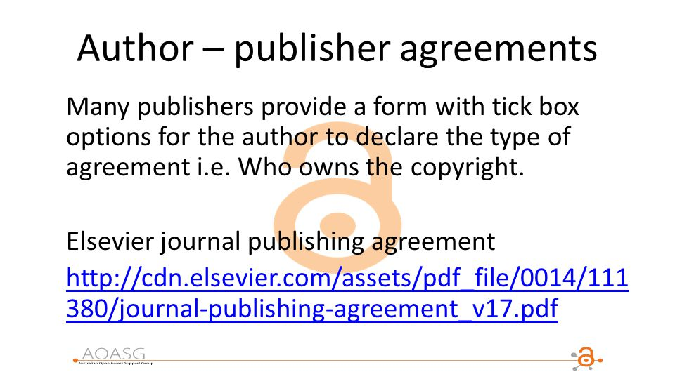 Aoasg member institutions ppt download author publisher agreements platinumwayz