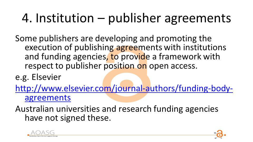 Aoasg member institutions ppt download institution publisher agreements platinumwayz