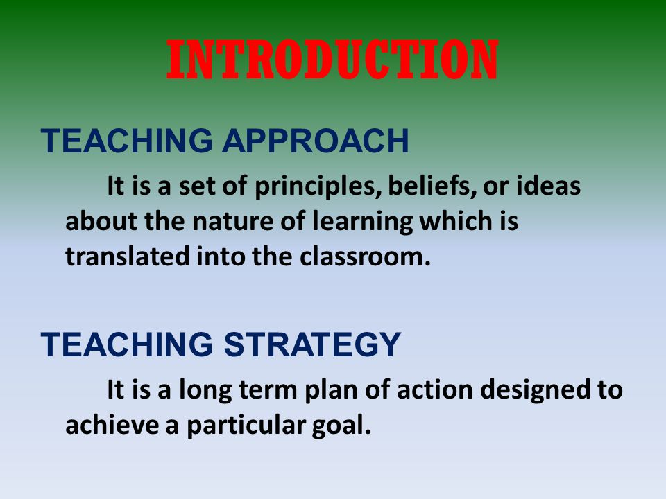 instructional strategies and approaches essay Free instructional design papers differentiated instructional strategies - differentiated instructional [tags: instructional essay, process essay.