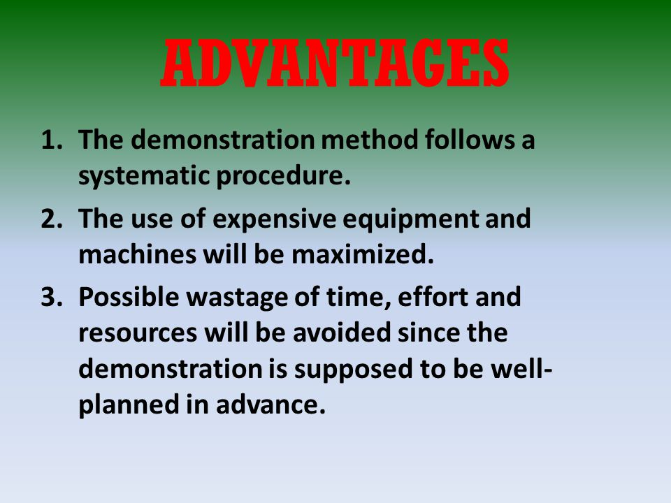 advantages of the scientific approach in