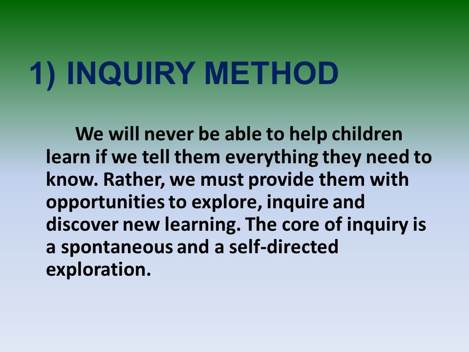 method of inquiry essay What is research methodology a years and seen thousands of research papers and you hope to consult and the methods you will be using to extract and.