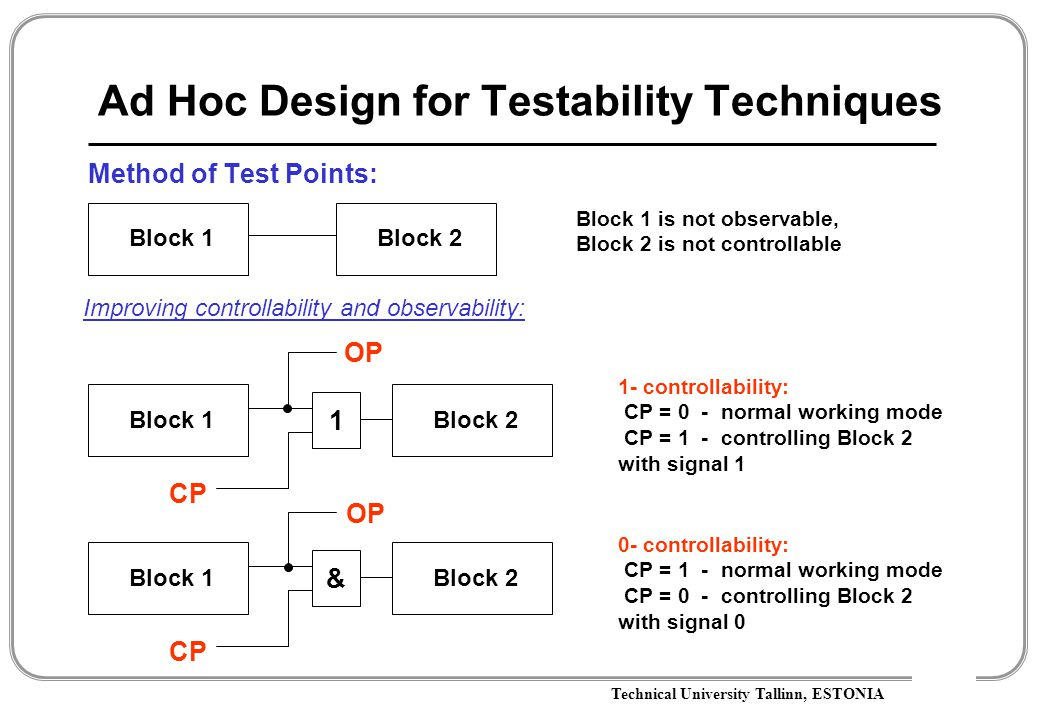 Design for Testability - ppt download