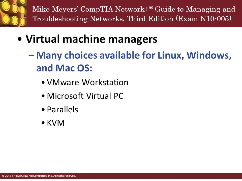 Virtual machine managers