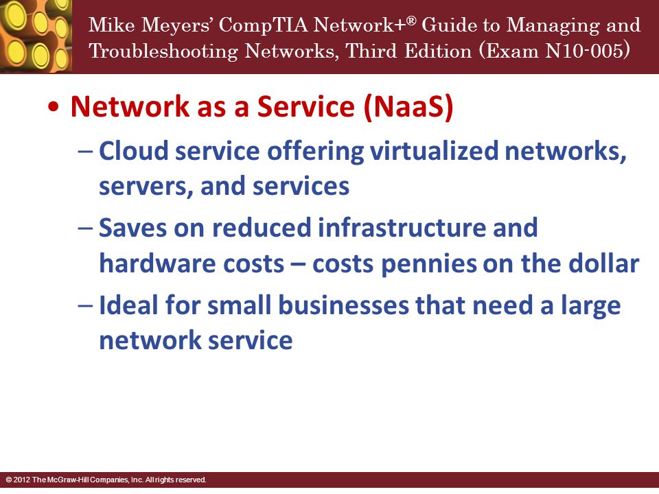 Network as a Service (NaaS)