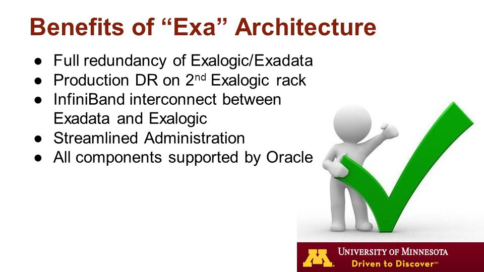 Exadata database machine administration workshop