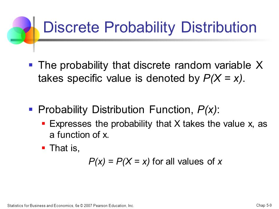 random variable and probability distribution function