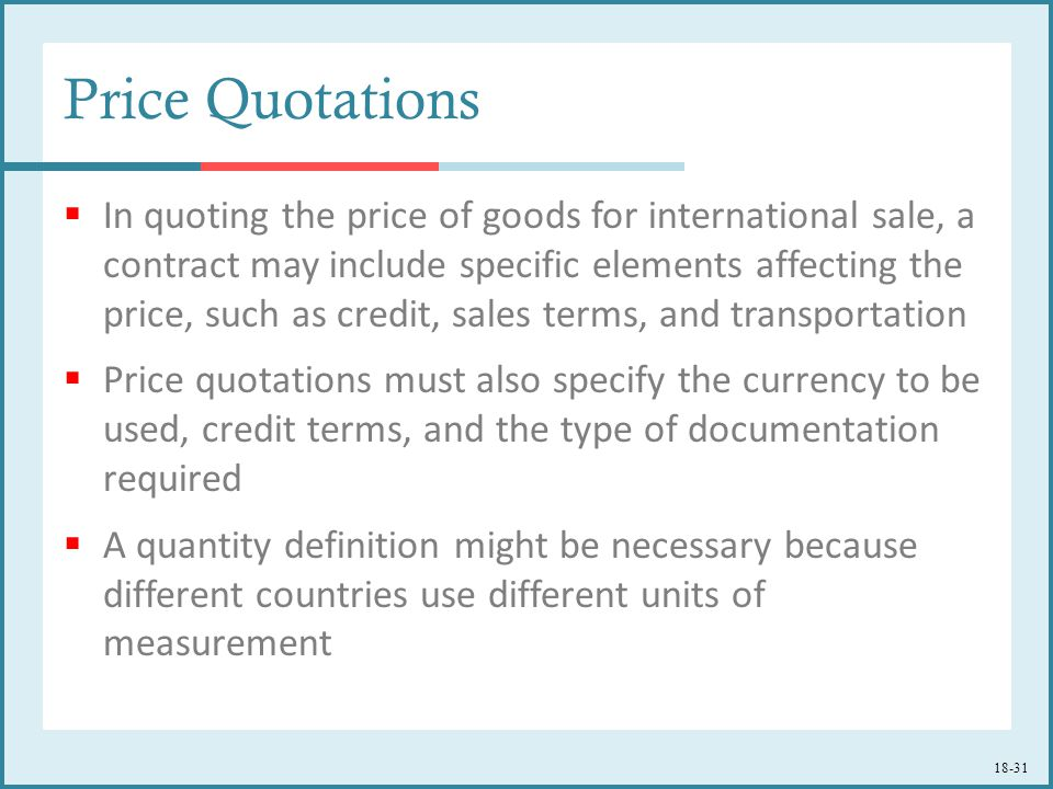 Pricing For International Markets  Ppt Download