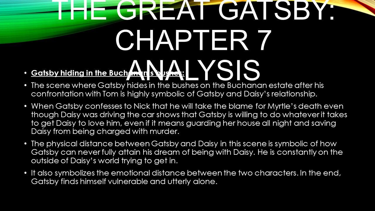 the great gatsby analysis 2 essay Close analysis of the beginning of chapter 2 the great gatsby chapter summary depiction of the valley of the ashes in chapter 2 of great gatsby essay.
