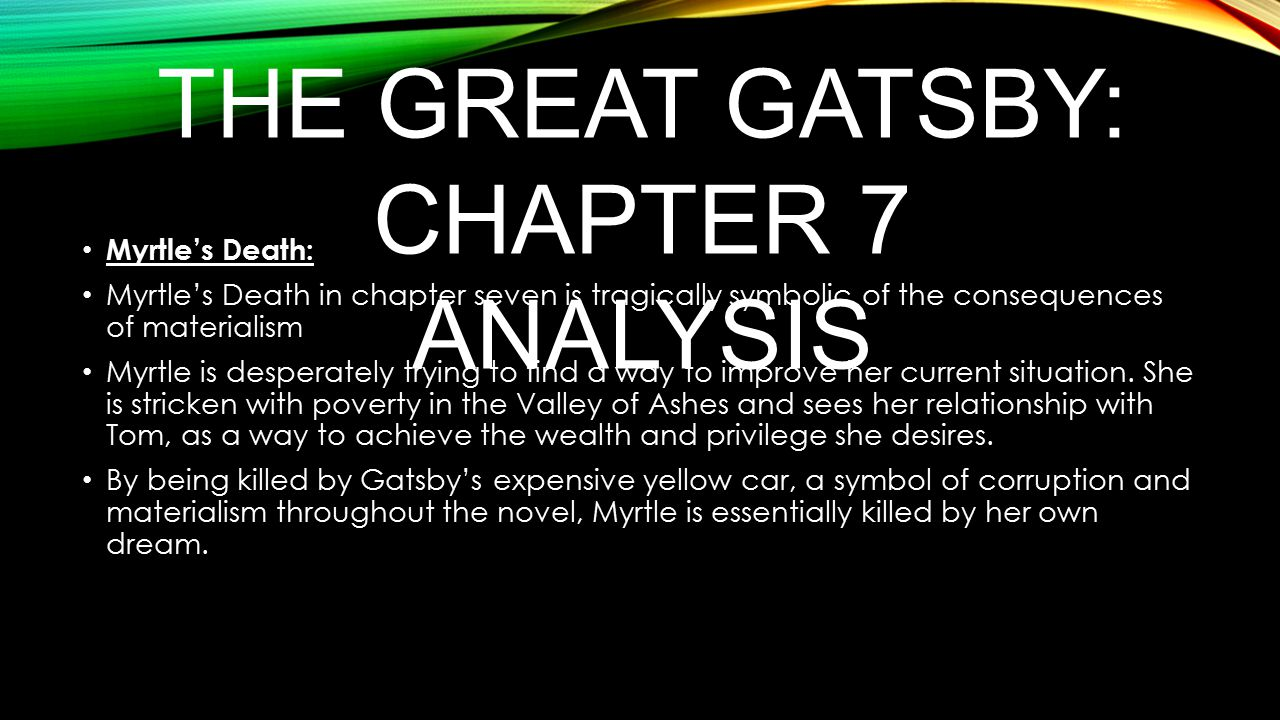 great gatsby chapter summary Nick starts this chapter by listing all the guests who attended one particular party at gatsby's it's a fairly comprehensive list, divided into groups from east egg and west egg, and.