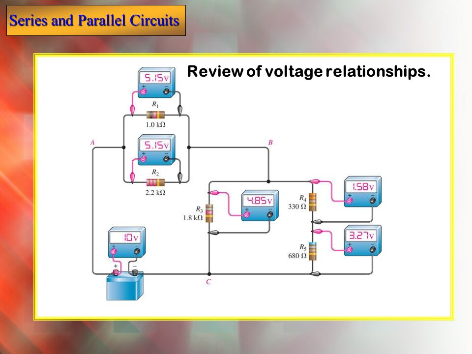 Review of voltage relationships.