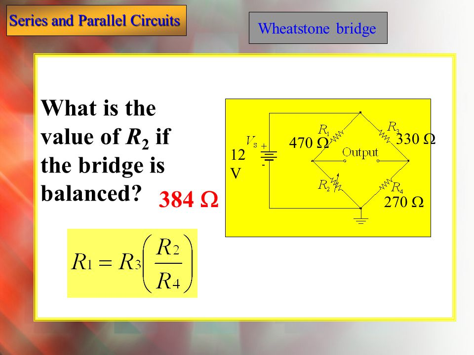 What is the value of R2 if the bridge is balanced